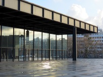 Neue Nationalgalerie, em Berlim, do Mies van der Rohe
