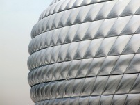 Allianz Arena em Munique, de Herzog & De Meuron
